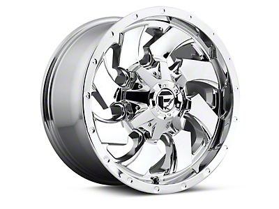 Fuel Wheels Cleaver Chrome 6-Lug Wheel - 18x9 (04-17 All)