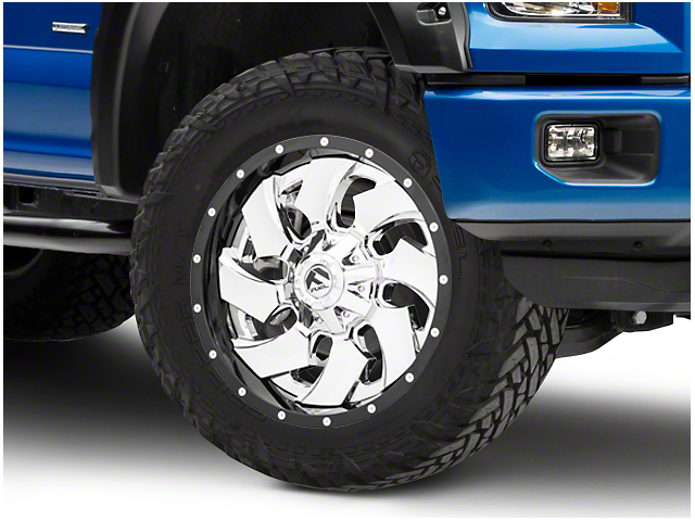 Fuel Wheels Cleaver Chrome 6-Lug Wheel - 20x9 (04-18 F-150)