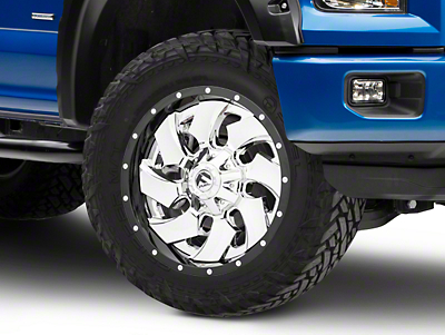 Fuel Wheels Cleaver Chrome 6-Lug Wheel - 20x9 (04-19 F-150)