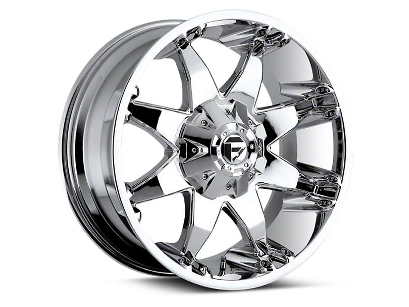 Fuel Wheels Octane Chrome 6-Lug Wheel - 20x9 (04-18 All)