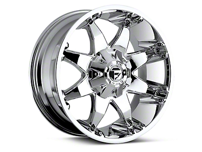 Fuel Wheels Octane Chrome 6-Lug Wheel - 20x9 (04-18 All)