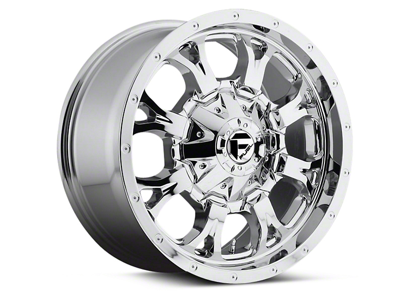 Fuel Wheels Krank Chrome 6-Lug Wheel - 18x9 (04-18 All)