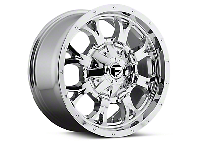 Fuel Wheels Krank Chrome 6-Lug Wheel - 18x9 (04-18 All)