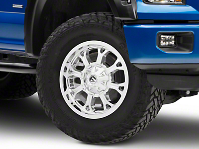 Fuel Wheels Krank Chrome 6-Lug Wheel - 20x9 (04-17 All)