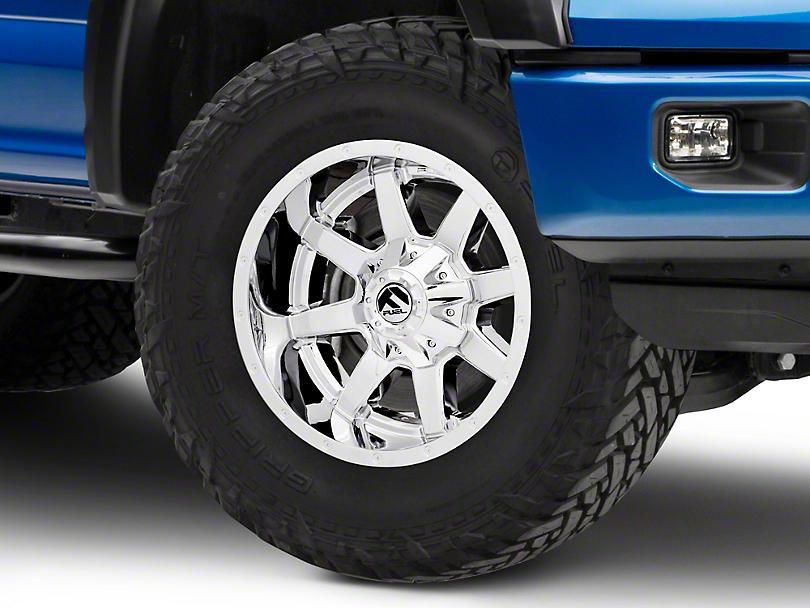 Fuel Wheels Maverick Chrome 6-Lug Wheel - 18x9 (15-19 F-150)