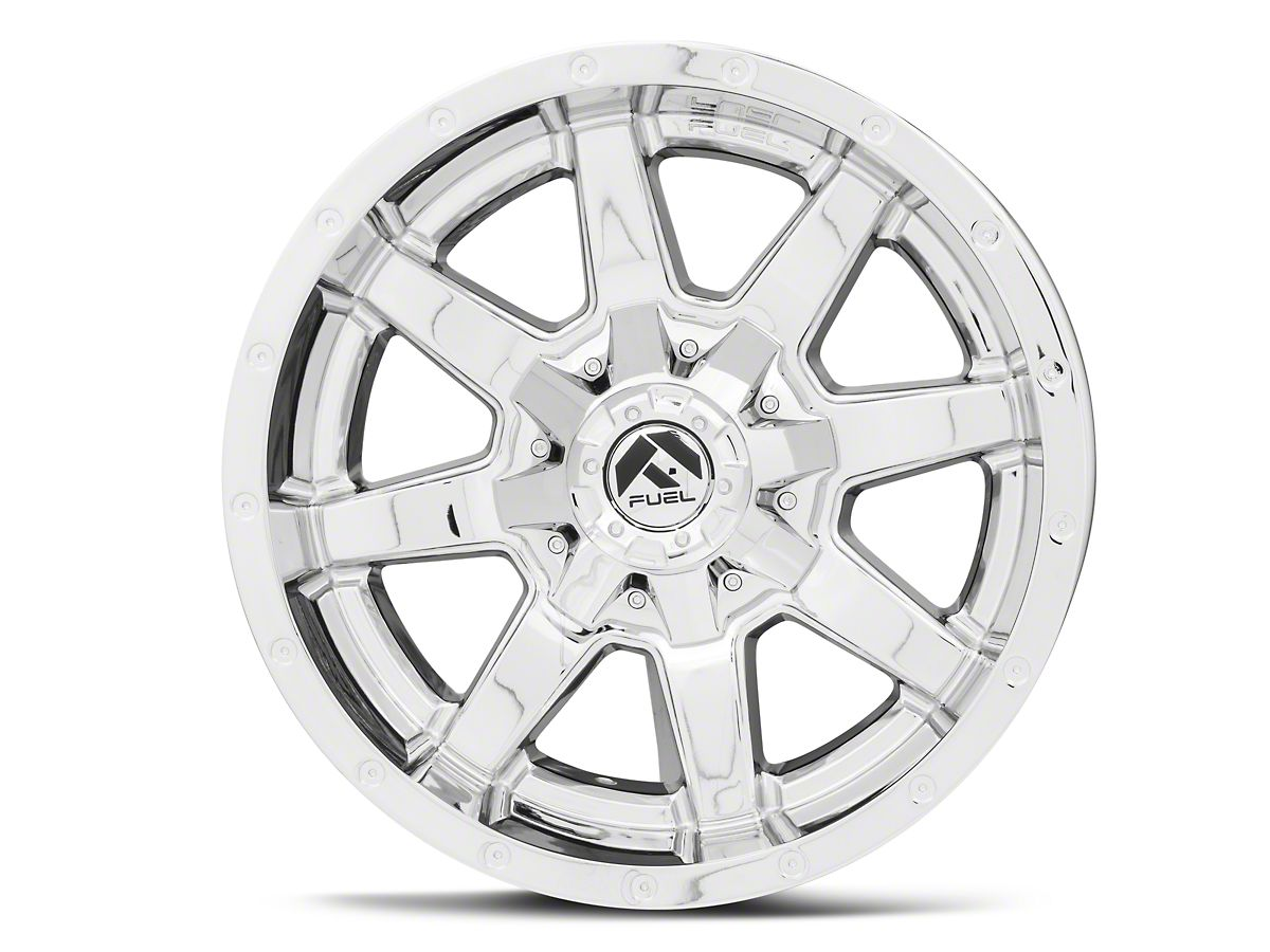 Fuel Wheels Maverick Chrome 6-Lug Wheel - 18x9 (15-19 F-150)