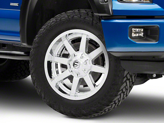 Fuel Wheels Maverick Chrome 6-Lug Wheel - 20x9 (04-18 F-150)
