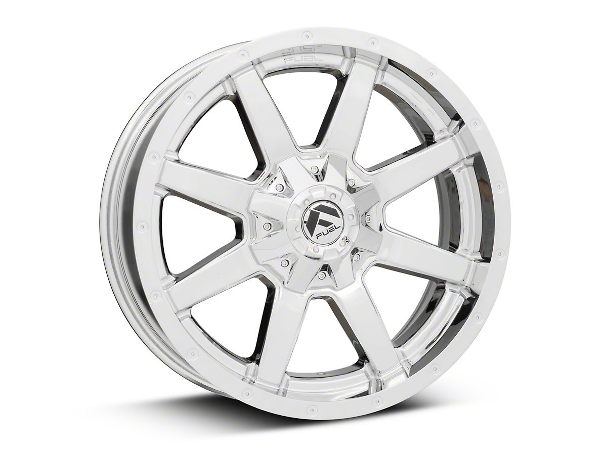 Fuel Wheels Maverick Chrome 6-Lug Wheel - 20x9 (15-19 F-150)
