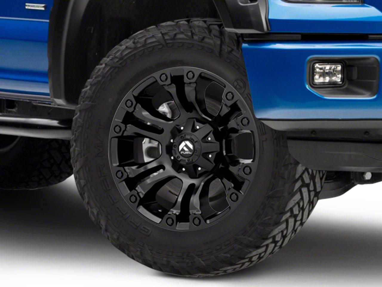 Fuel Wheels 20x9 >> Fuel Wheels Vapor Matte Black 6 Lug Wheel 20x9 15 20 F 150