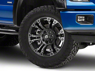 Fuel Wheels Vapor Black Double Dark 6-Lug Wheel - 18x9 (04-18 F-150)