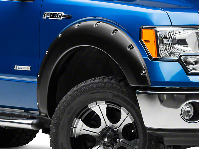 Smittybilt M1 Fender Flares - Black (09-14 Styleside, Excluding Raptor)