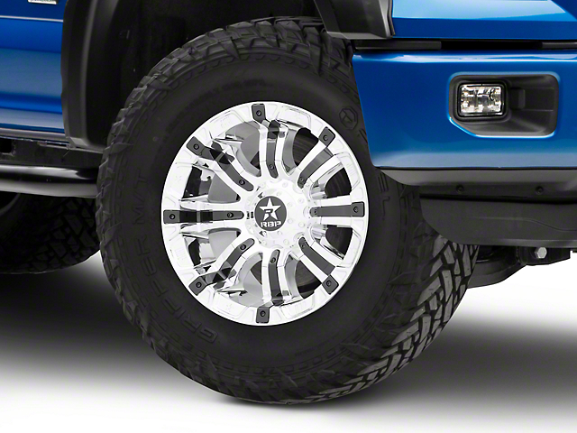 RBP 94R Chrome w/ Black Inserts 6-Lug Wheel - 18x10 (15-19 F-150)