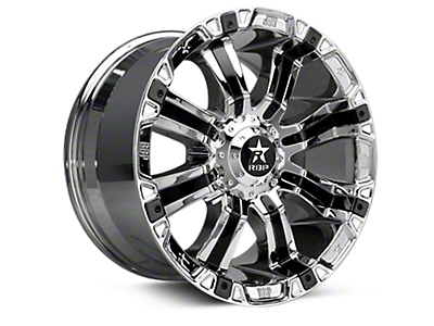 RBP 94R Chrome w/ Black Inserts 6-Lug Wheel - 20x10 (04-18 All)