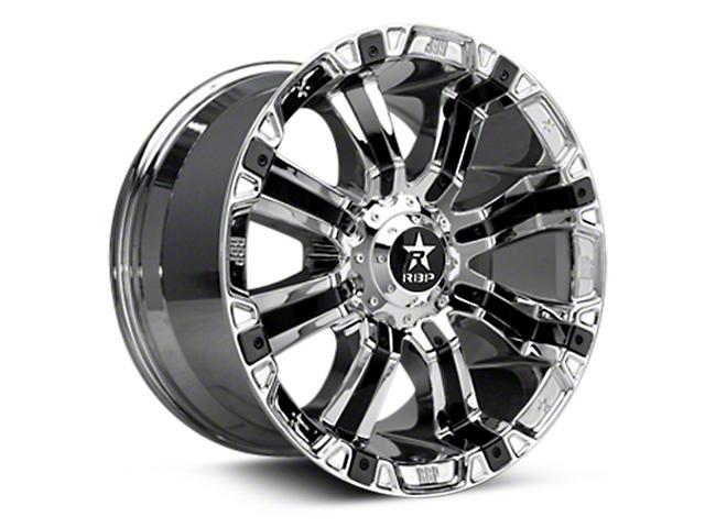 RBP 94R Chrome w/ Black Inserts 6-Lug Wheel - 20x9 (04-18 All)