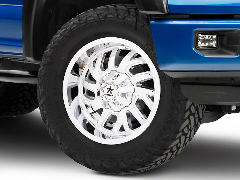 RBP 65R Glock Chrome 6-Lug Wheel - 20x10 (04-18 All)