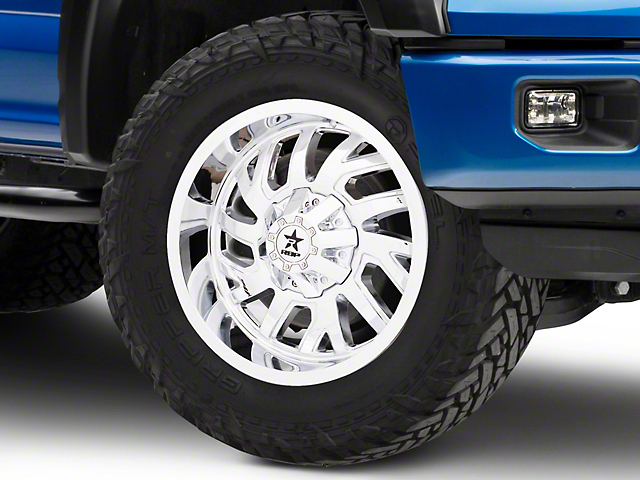 RBP 65R Glock Chrome 6-Lug Wheel - 20x10; 0mm Offset (15-19 F-150)