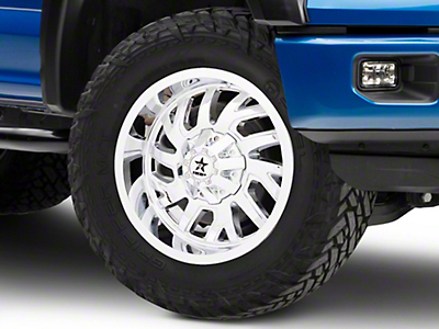 RBP 65R Glock Chrome 6-Lug Wheel - 20x10 (04-17 All)