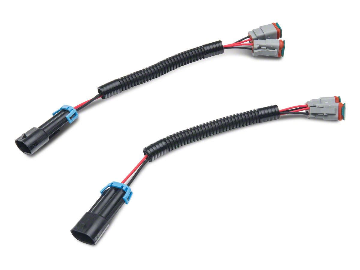 Axial H10 Fog Light Dual Wire Harness Adapter Set (99-19 F-150) on