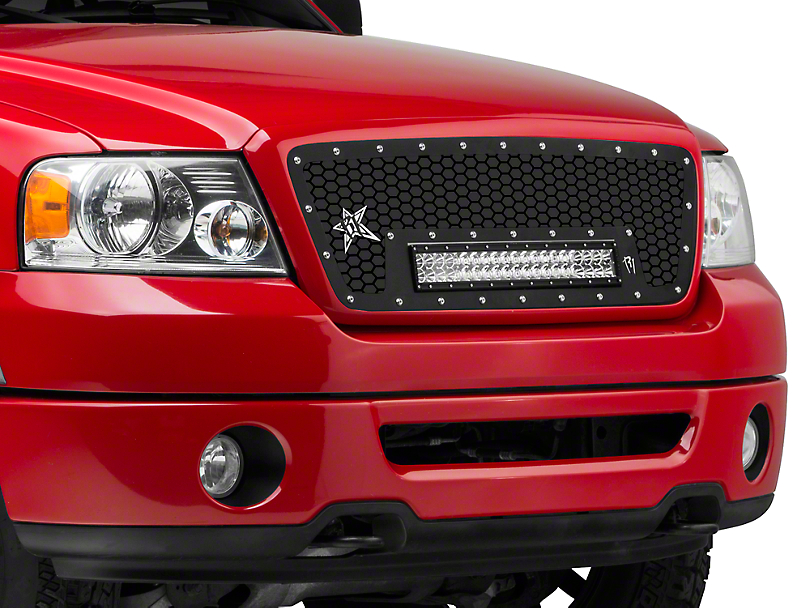 Rigid Industries Upper Replacement Grille for 20 in. E-Series LED Light Bar (04-08 All)