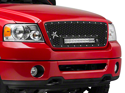 Rigid Industries Upper Replacement Grille for 20 in. E-Series LED Light Bar (04-08 F-150)