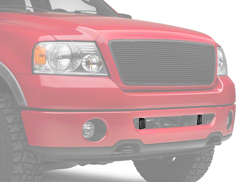 Rigid Industries 20 in. E-Series or SR-Series Light Bar Bumper Mounting Brackets (06-08 All)