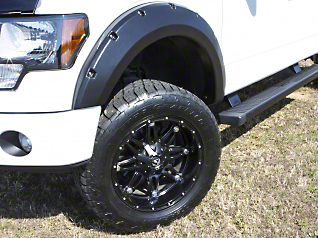 Lund Elite Series RX-Rivet Style Fender Flares - Textured (04-08 Styleside)
