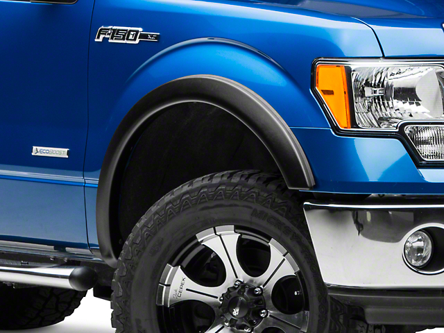 Lund Elite Series SX-Sport Style Fender Flares - Textured (09-14 Styleside, Excluding Platinum & Raptor)
