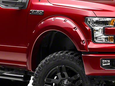 Bushwacker Pocket Style Fender Flares - Pre-painted (15-17 All, Excluding Raptor)