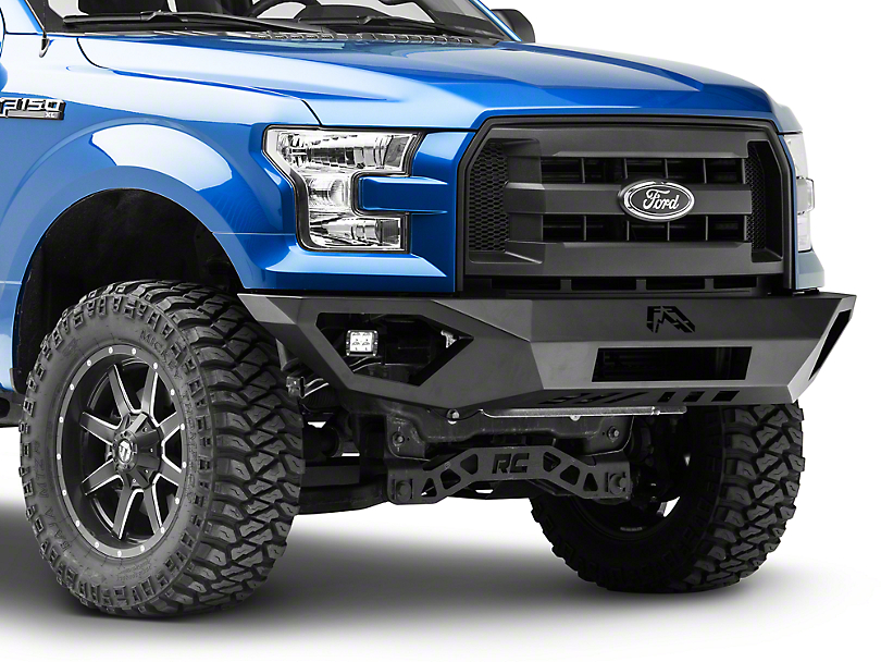 Fab Fours Vengeance Front Bumper w/ No Guard (15-17 F-150, Excluding Raptor)