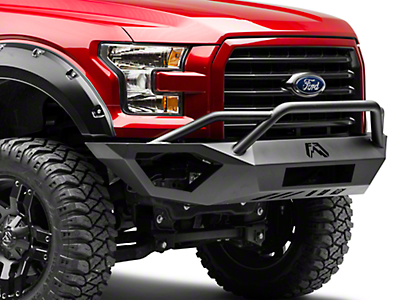 Fab Fours Vengeance Front Bumper w/ Pre-Runner Guard (15-17 All, Excluding Raptor)