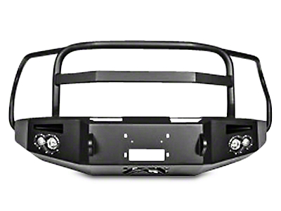 Fab Fours Premium Winch Front Bumper w/ Full Guard (15-17 All, Excluding Raptor)