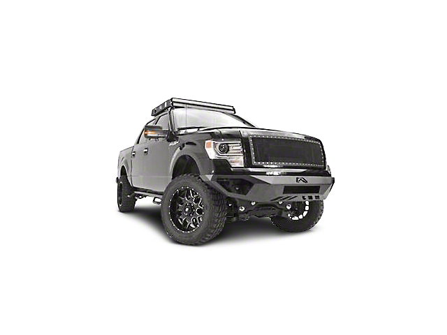 Fab Fours Vengeance Front Bumper w/ No Guard (09-14 All, Excluding Raptor)