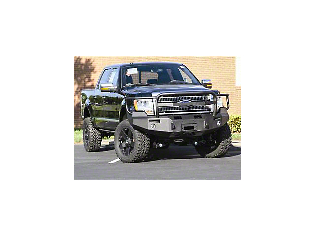 Fab Fours Premium Front Winch Bumper w/ Full Guard (09-14 All, Excluding Raptor)