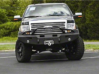 Fab Fours Premium Front Winch Bumper w/ Pre-Runner Guard (09-14 All, Excluding Raptor)