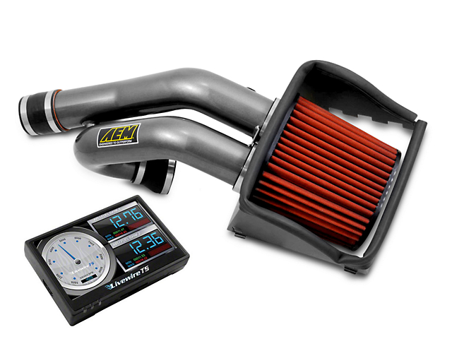 AEM Cold Air Intake & SCT LiveWire Tuner (15-16 3.5L EcoBoost)