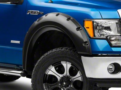 Barricade Aggressive Molded Fender Flares (09-14 F-150 Styleside, Excluding Raptor)