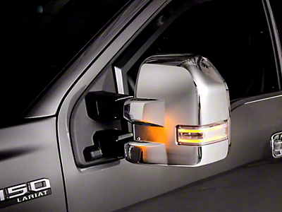 Putco Chrome Mirror Covers (15-17 w/ Towing Mirrors)
