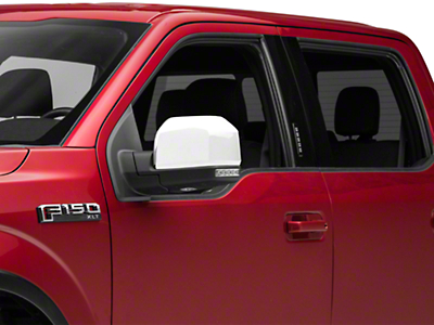 Putco Chrome Mirror Covers - Skull Cap Replacement (15-18 F-150 w/ Standard Mirrors)