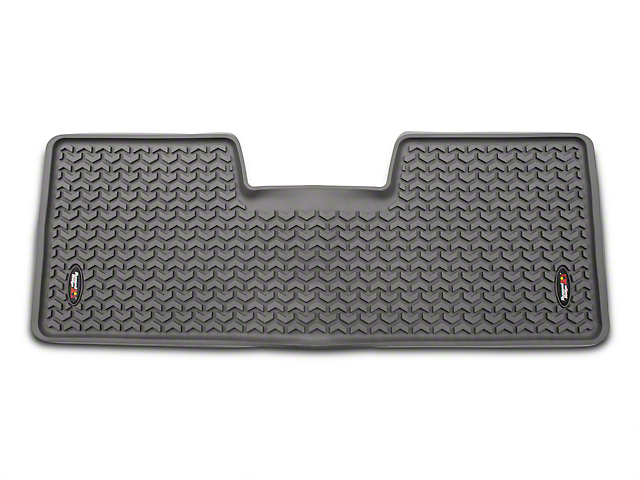 Rugged Ridge Rear Floor Liner - Gray (09-14 SuperCab, SuperCrew)