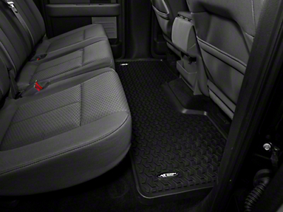 Rugged Ridge Rear Floor Liner - Black (09-14 F-150 SuperCab, SuperCrew)
