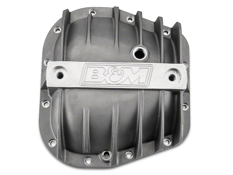 B&M Cast Aluminum Differential Cover - 9.75 in. (97-17 All)