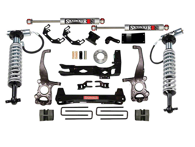 SkyJacker 6-7 in. LeDuc Series Coil Over Suspension Lift Kit w/ M95 MonoTube Shocks (15-18 4WD, Excluding Raptor)