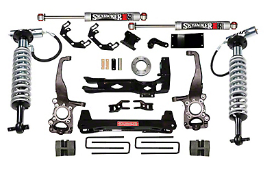 SkyJacker 6-7 in. LeDuc Series Coil Over Suspension Lift Kit w/ M95 MonoTube Shocks (15-18 4WD F-150, Excluding Raptor)