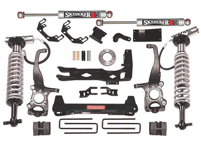 SkyJacker 6 in. LeDuc Series Coil Over Suspension Lift Kit w/ M95 MonoTube Shocks (09-13 4WD, Excluding Raptor)