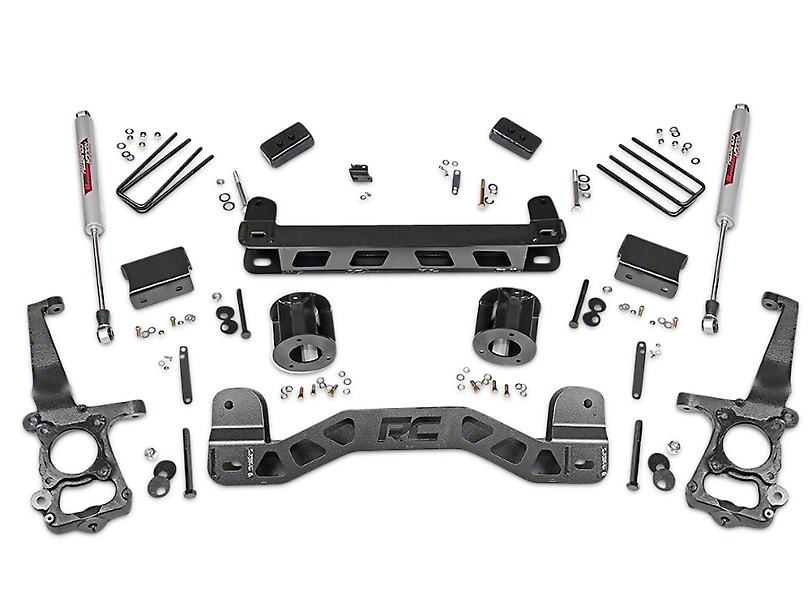 Rough Country 4 in. Lift Kit w/ Shocks (15-18 2WD)