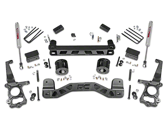 Rough Country 4 in. Lift Kit w/ Shocks (15-17 2WD)