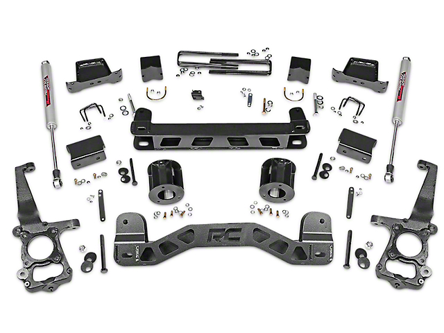 Rough Country 5 in. Lift Kit w/ Shocks (15-18 2WD)