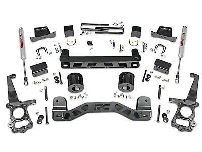 Rough Country 5 in. Lift Kit w/ Shocks (15-18 2WD F-150)