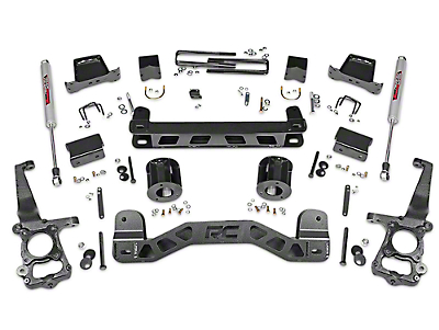 Rough Country 6 in. Lift Kit w/ Shocks (15-18 2WD F-150)
