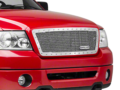 Royalty Core RC1 Classic Stainless Steel Upper Grille Insert - Chrome (04-08 F-150)